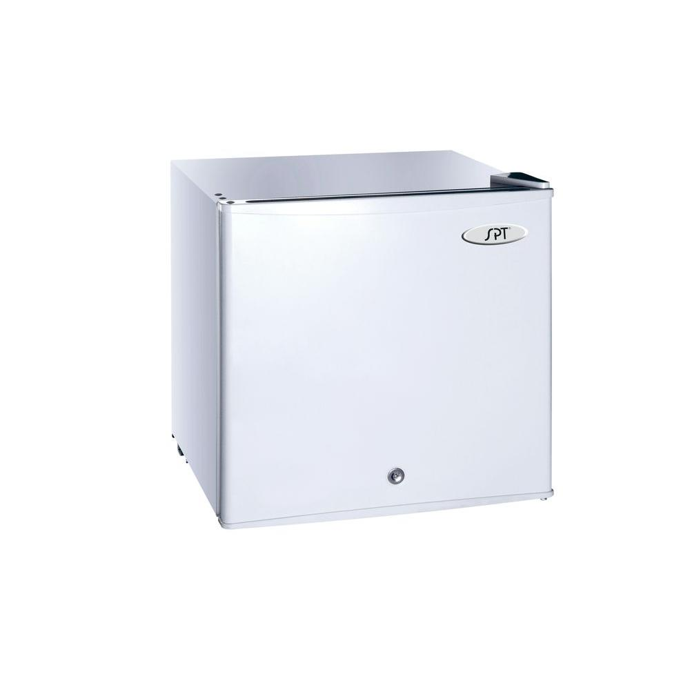 SPT 1.1 cu. ft. Upright Compact Freezer in White