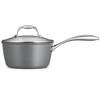 Gourmet 3 Qt. Hard Anodized Saucepan with Lid