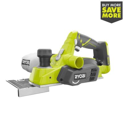 18-Volt ONE+ Cordless 3-1/4 in. Planer (Tool Only)