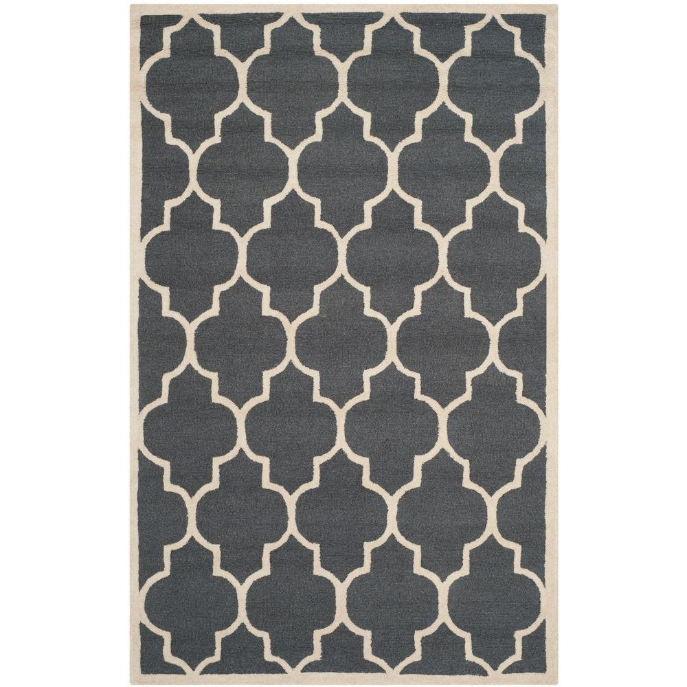 Oriental Weavers Area Rugs The Home Depot Martha Ivory Top Leux Studio L Cambridge Dark Gray 8 Ft X 10 Rug