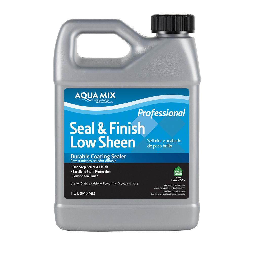 Aqua Mix 1 Qt. Seal and Finish Low Sheen Sealer