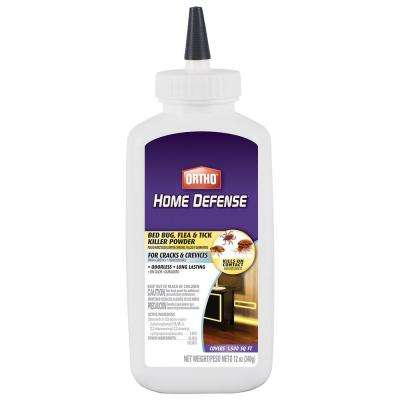 12 oz. Home Defense Bed Bug, Flea and Tick Killer Powder