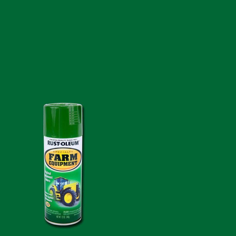 12 oz. Farm Equipment John Deere Green Gloss Enamel Spray Paint