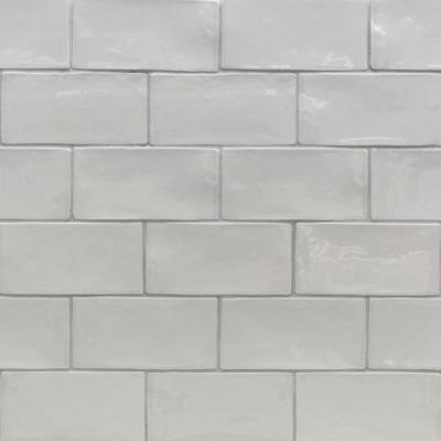 Catalina Gris 3 in. x 6 in. x 8 mm Polished Ceramic Subway Wall Tile (5.38 sq.ft./case)