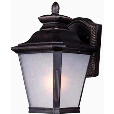 Knoxville 1-Light Bronze Integrated LED Outdoor Wall Lantern Sconce