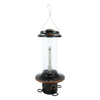 Squirrel MX5 Oil Rubbed Bronze Squirrel Resistant Feeder, 3.4 lbs. Feed Capacity