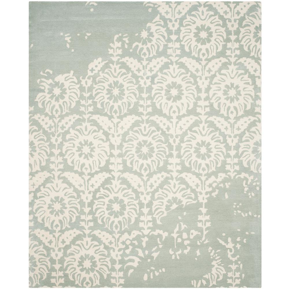 Bella Light Gray/Ivory 8 ft. x 10 ft. Area Rug