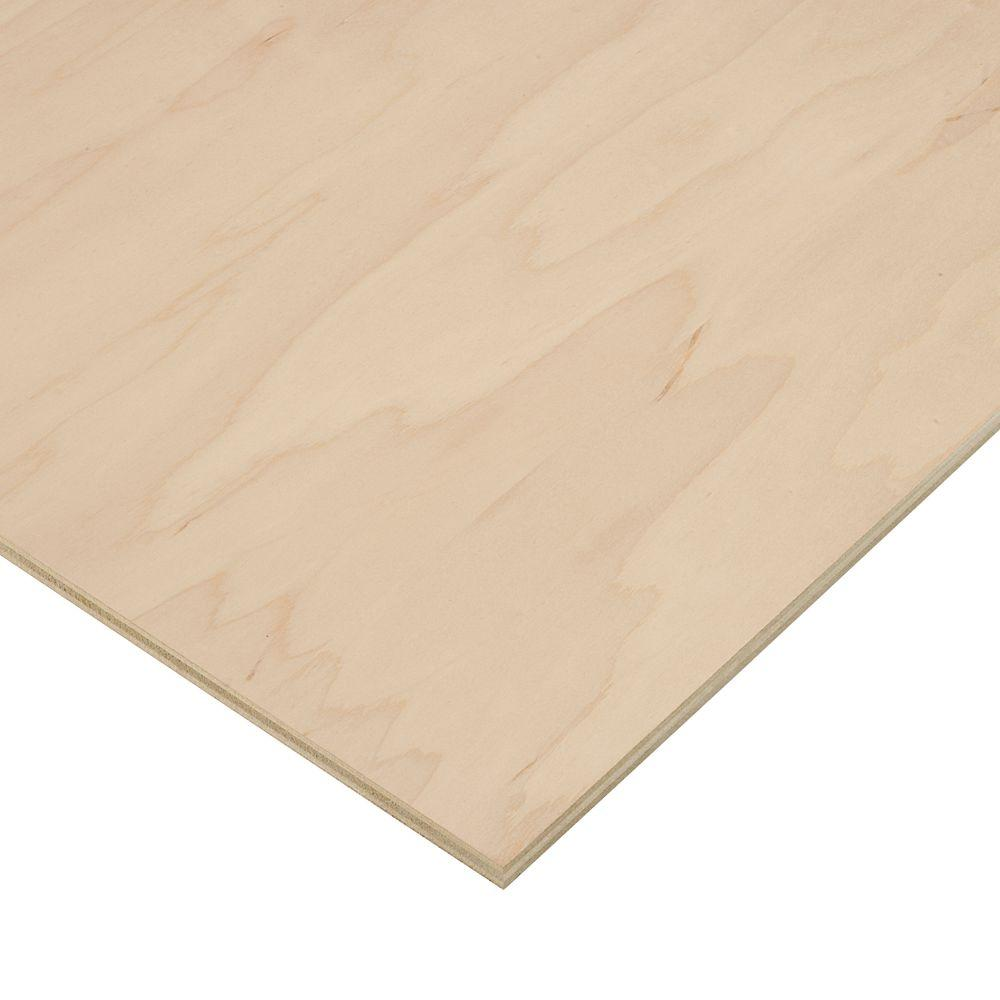 1/2 in. x 2 ft. x 4 ft. PureBond Maple Plywood Project Panel (Free Custom Cut Available)