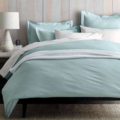 Organic Percale 300-Thread Count Duvet Cover