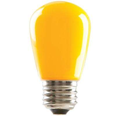 11W Equivalent S14 LED Dimmable Light Bulb (25-Pack)