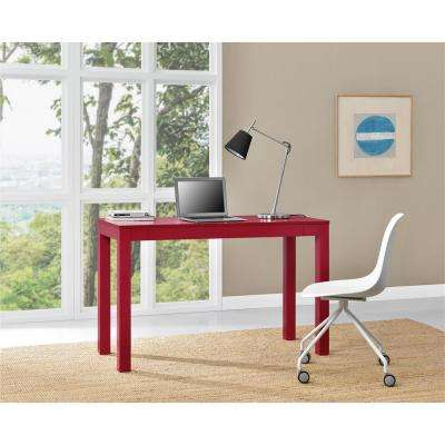 Parsons XL Red Desk