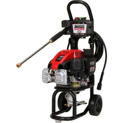 Clean Machine by 2400 PSI at 2.0 GPM 149cc Cold Water Residential Gas Pressure Washer