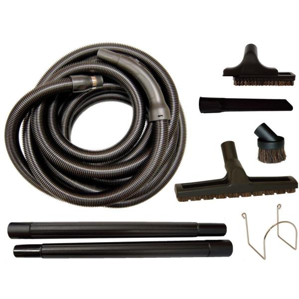 Central Vacuum Garage and Utility Attachment Set
