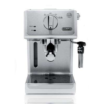 15-Bar Stainless Steel Espresso Machine and Cappuccino Maker