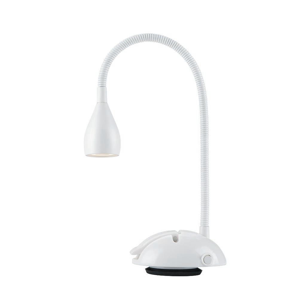 Hampton Bay White LED Suction Cup Lamp