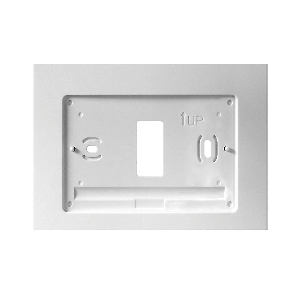 Emerson Thermostat Wall Plate W100 The Home Depot