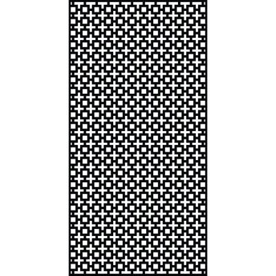 Sahara 95 in. x 47.5 in. Recycled Plastic Decorative Screen (Bundle of 5)