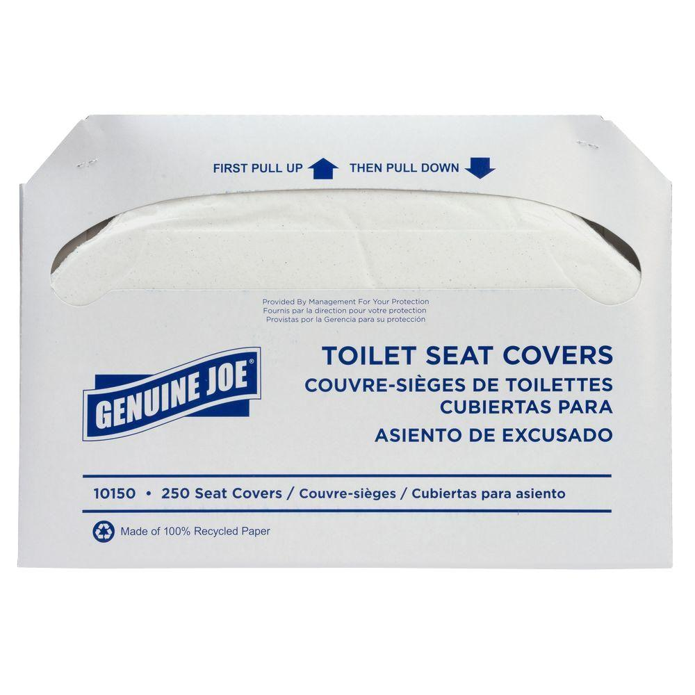 Astonishing Genuine Joe Toilet Seat Covers 250 Sheets Per Pack 10 Packs Per Case Gmtry Best Dining Table And Chair Ideas Images Gmtryco
