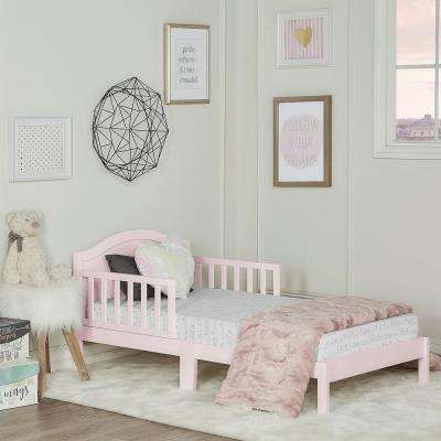 Sydney Blush Pink Toddler Adjustable Toddler Bed