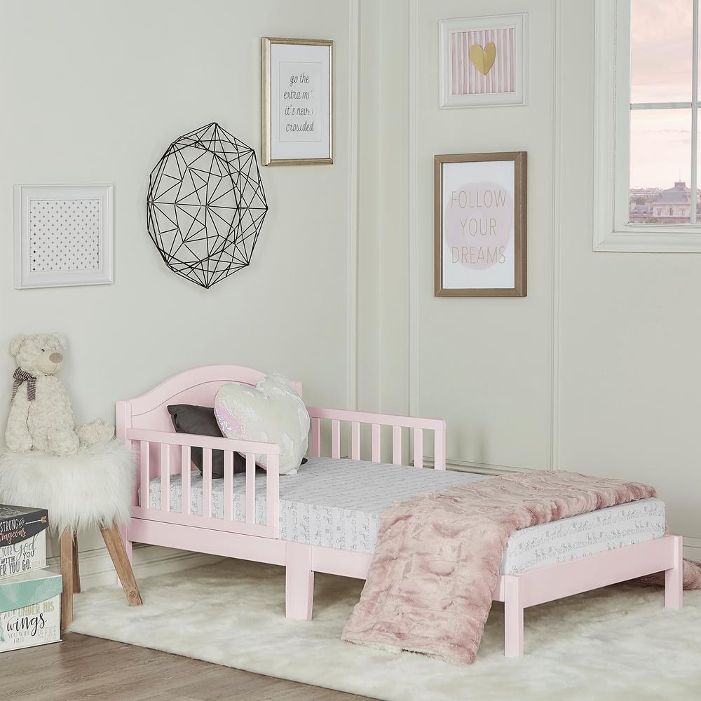 Sydney Blush Pink Toddler Adjustable Toddler Bed