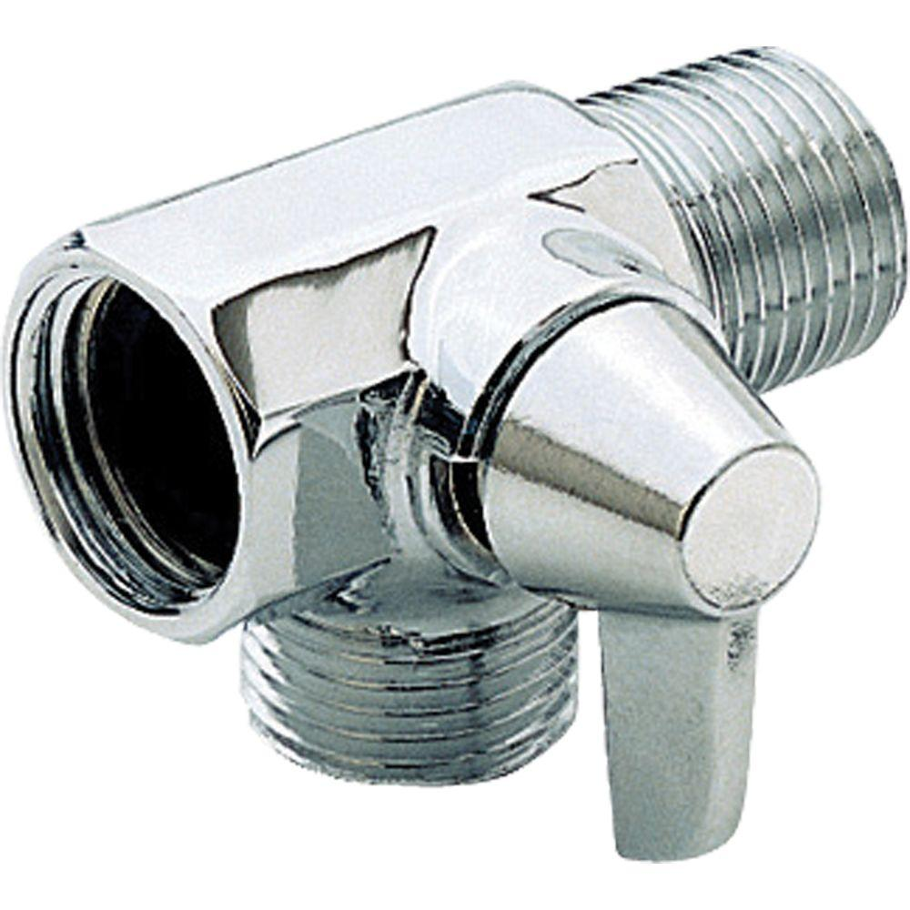 Delta Shower Arm Diverter for Handshower in Chrome