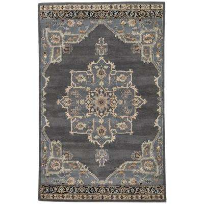 Ebony 8 ft. x 10 ft. Oriental Area Rug