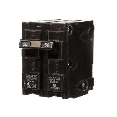 50 Amp Double-Pole Type QP Circuit Breaker