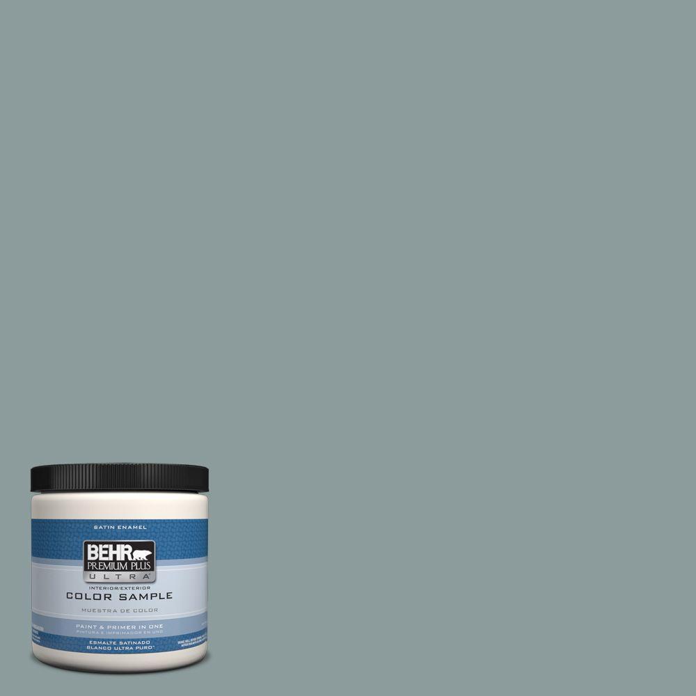 Behr Premium Plus Ultra 8 Oz Hdc Ac 23 Provence Blue