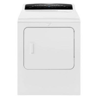 7.0 cu. ft. 240-Volt High-Efficiency White Electric Vented Dryer with AccuDry and Intuitive Touch Controls