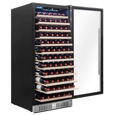 23.5 in. 127-Bottle Built-in Compressor Wine Cooler