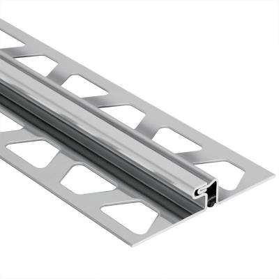 Dilex EDP Stainless Steel 1 2 in  x 8 ft  2. Stainless Steel   Tile Edging   Trim   Tile Tools   Supplies   The