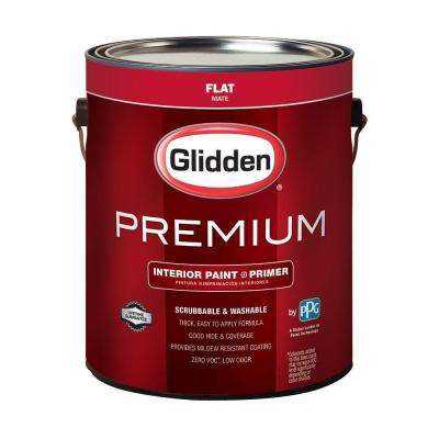 1 gal. Base 1 Flat Interior Paint