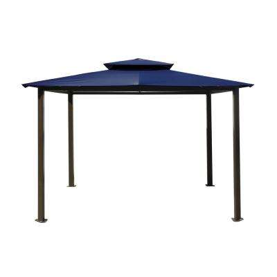 Paragon Gazebo 10 ft. x 12 ft. with Navy Top