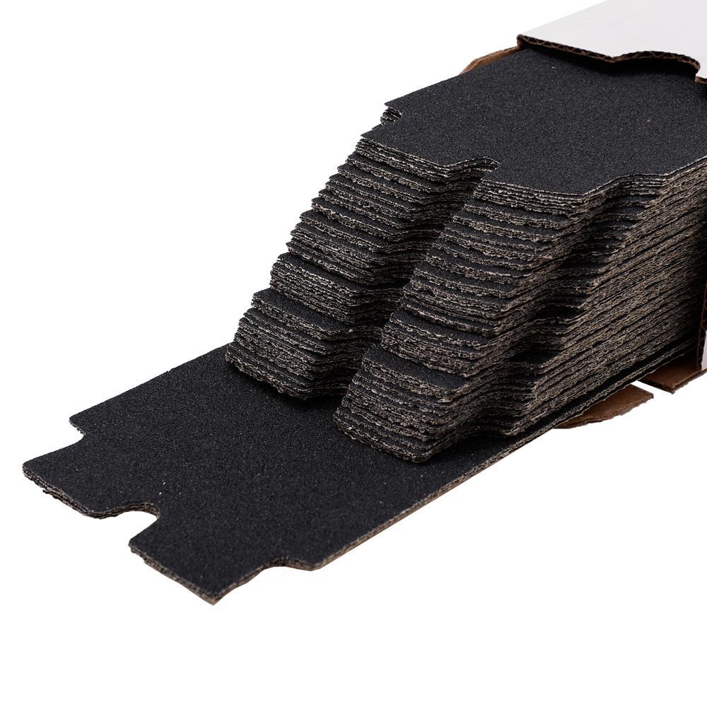 Long Tab 4-3/16 in. x 11-5/16 in. 150-Grit Drywall Sanding Sheets (100-Pack)
