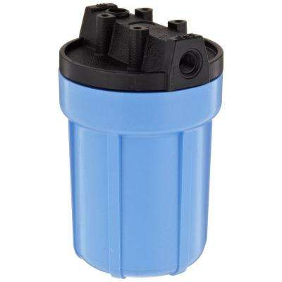 158138 1/4 in. #5 Water Filter Housing - Blue/Black