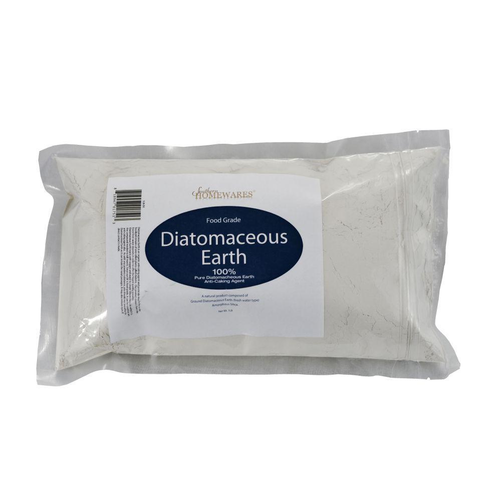 1 lb. Diatomaceous Earth Food Grade in Zipper Bag