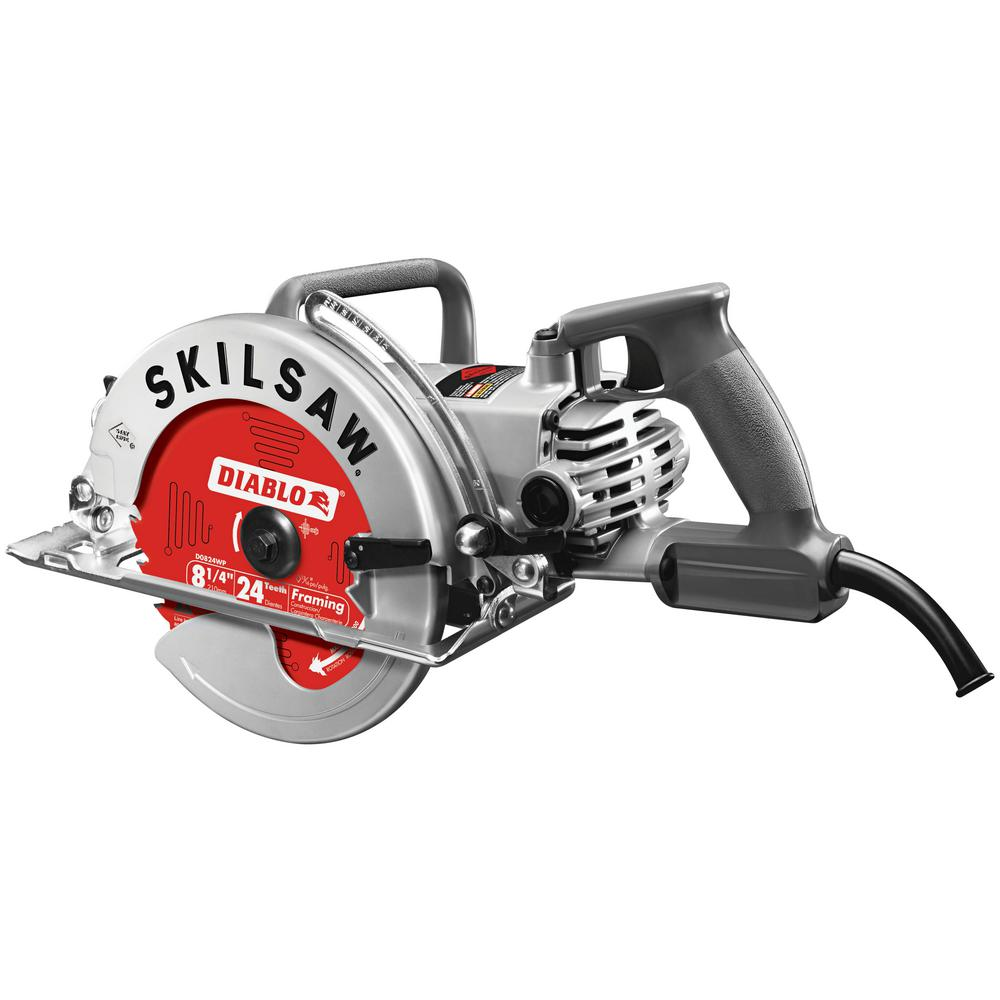 SKILSAW 15 Amp 8-1/4 in. Corded Worm Drive Saw