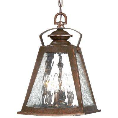 Oxford Ford Architectual Bronze 4-Light Hanging Light