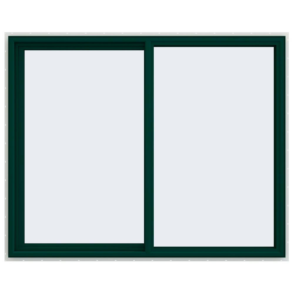 59.5 in. x 47.5 in. V-4500 Series Left-Hand Sliding Vinyl Window