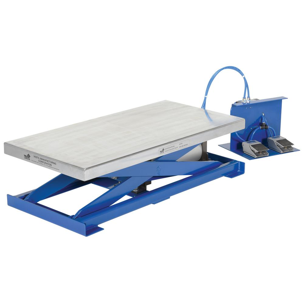Vestil 200 lb  Capacity Pneumatic Scissor Lift Table