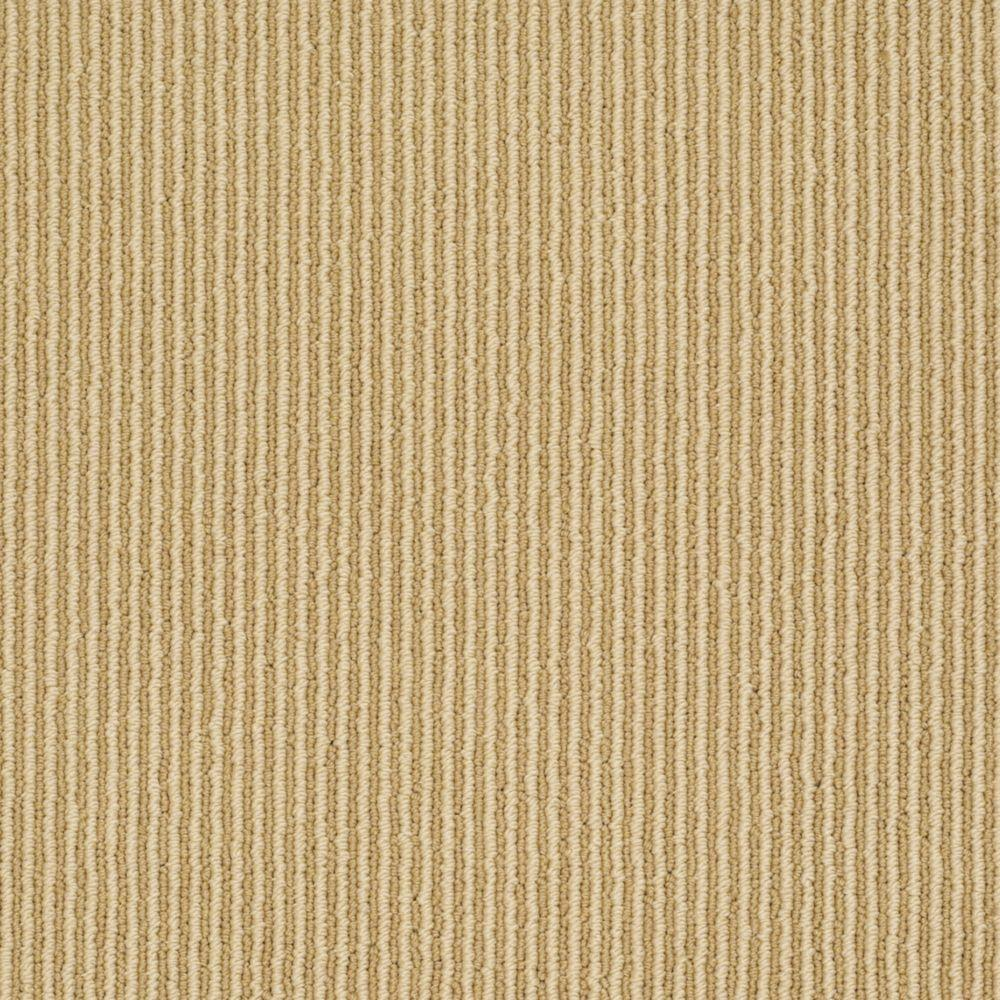 Martha Stewart Living Statford Heights - Color Burlap 6 in. x 9 in. Take Home Carpet Sample