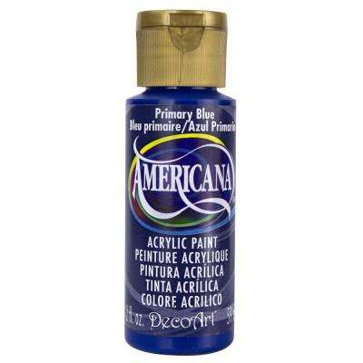 Americana 2 oz. Primary Blue Acrylic Paint