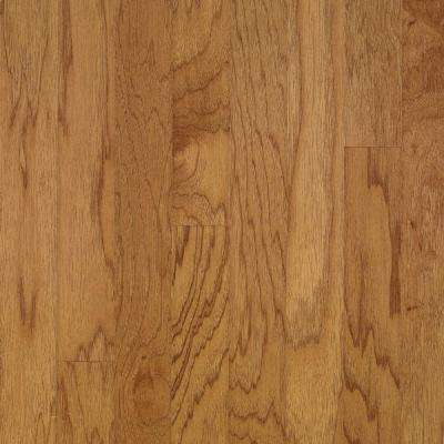 Town Hall Exotics Plank 3/8 in.T x 3 in.W x Varying Length Hickory Smoky Topaz Engineered Hardwood Flooring (28 sq.ft.)
