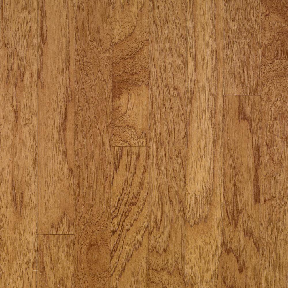 Town Hall Exotics Plank 3/8 in. x 3 in. x Random Length Hickory Smoky Topaz Engineered Hardwood Flooring(28 sq.ft./case)