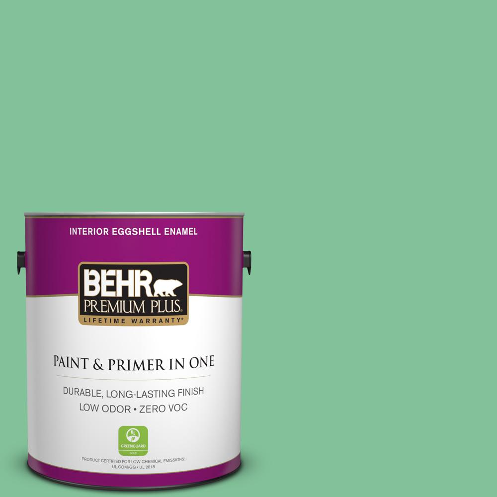 BEHR Premium Plus 1-gal. #P410-4 Willow Hedge Eggshell Enamel Interior Paint