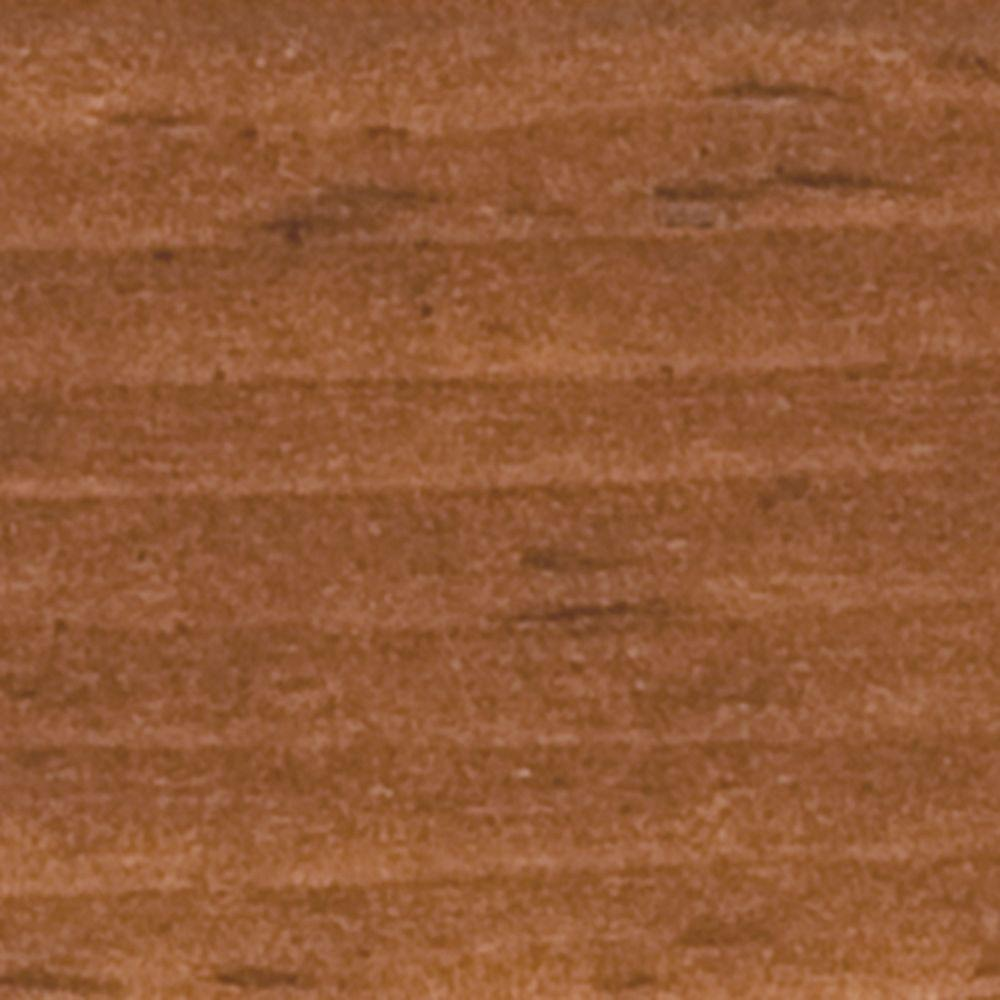 A-Series Interior Color Sample in Cinnamon Stain on Pine