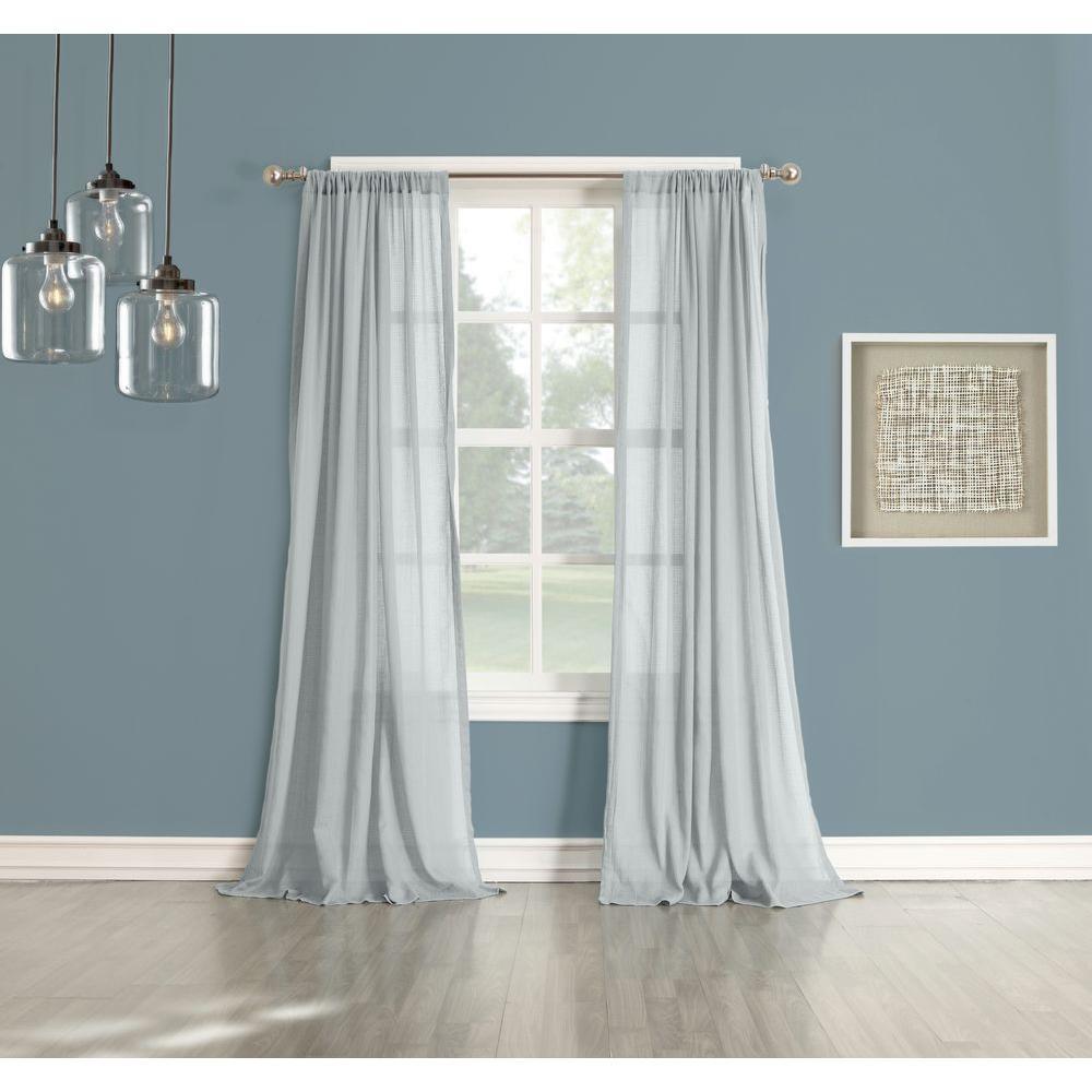 No. 918 Millennial Henderson Cotton Gauze Curtain Panel