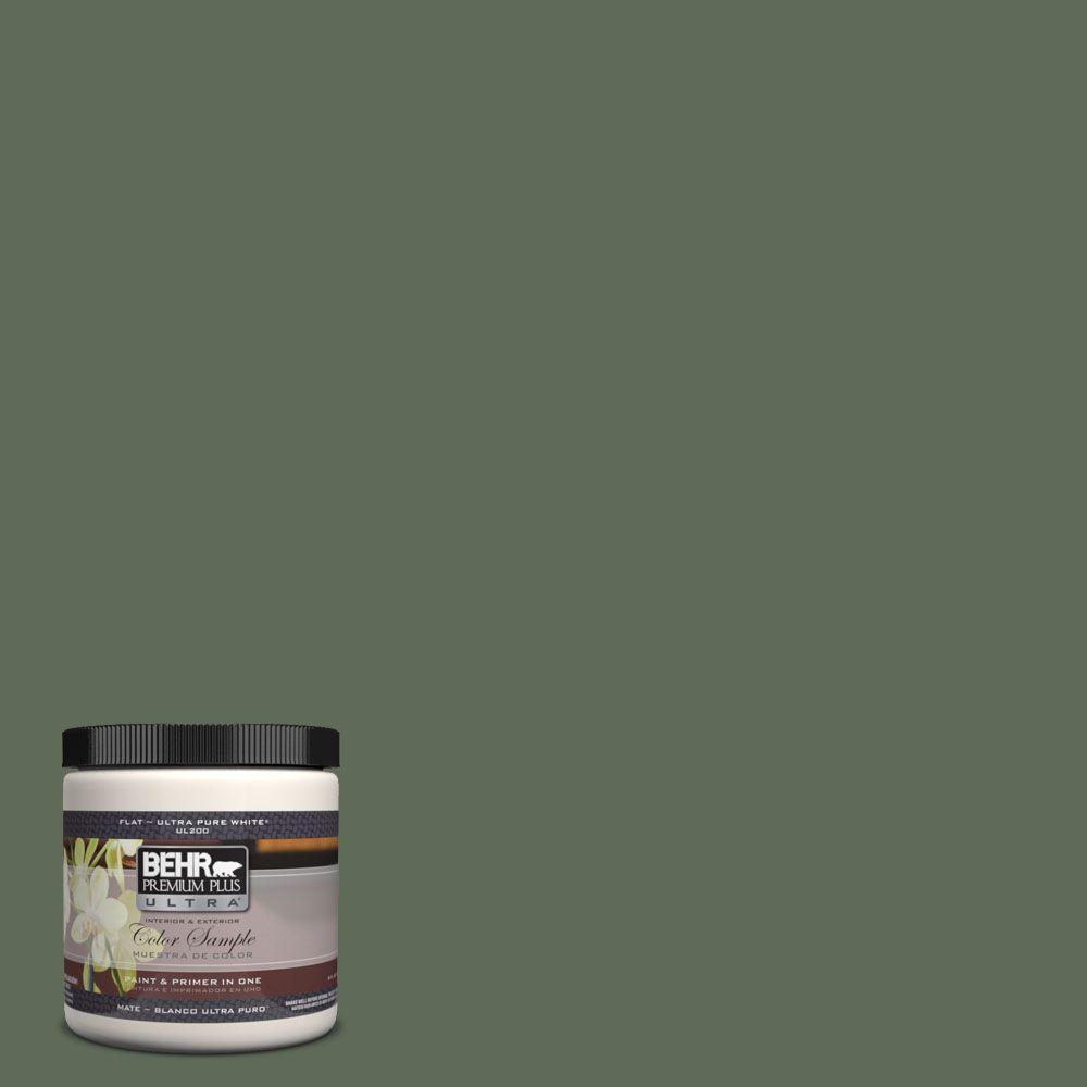BEHR Premium Plus Ultra 8 oz. #UL210-2 Royal Orchard Interior/Exterior Paint Sample