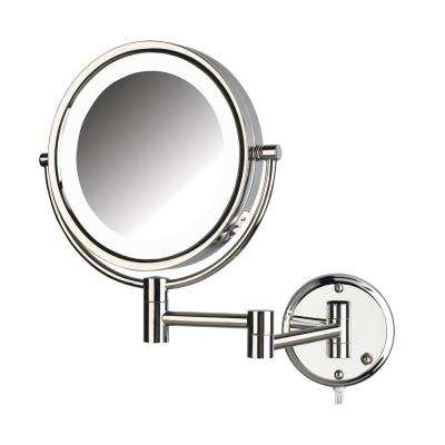 10.5 in. x 14.5 in. LED Lighted Wall Mirror
