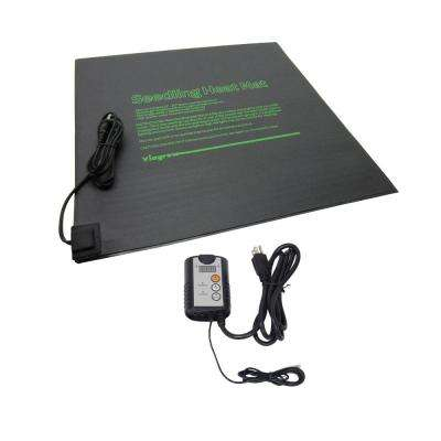 20.5 in. x 20.5 in. Dual Tray Heat Mat with Thermostat